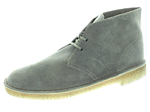 Clarks Men's Desert Boot Taupe Suede Boot 10.5 Men US