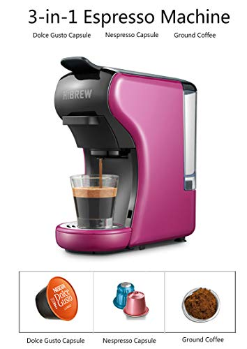 HiBREW 3-in-1 Multi-Function Espresso Dolce Gusto