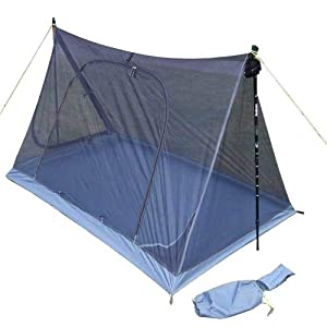 MINHUNG Eisman Axeman Lightweight Double Layer Summer Breathable Gauze with Mosquito Canopy can use