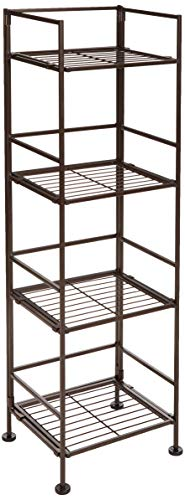 AmazonBasics 4-Tier Iron Tower Shelf