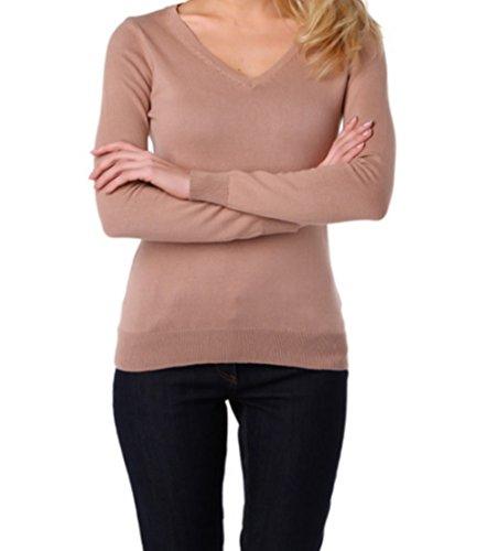 Eve Mode - Jerséi - para mujer Beige