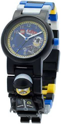 LEGO Kids' 8020226 LEGO Movie Bad Cop Plastic Minifigure Link Watch