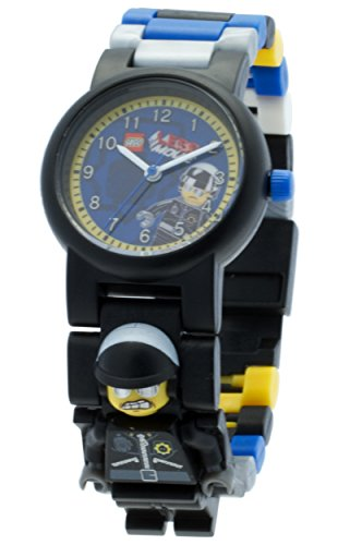 LEGO Kids' 8020226 LEGO Movie Bad Cop Plastic Minifigure Link Watch (Best Watches For Cops)