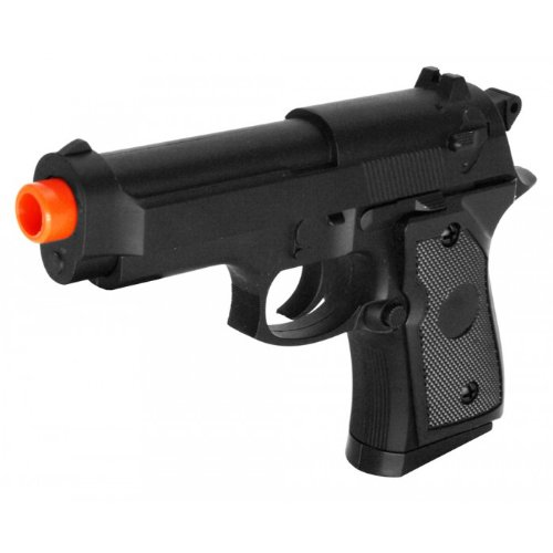 zm21 m9 spring airsoft pistol metal pocket fps-225 heavy weight full metal construction(Airsoft ()
