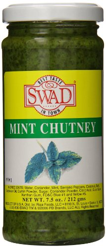 Swad Mint Chutney, 7.5 Ounce