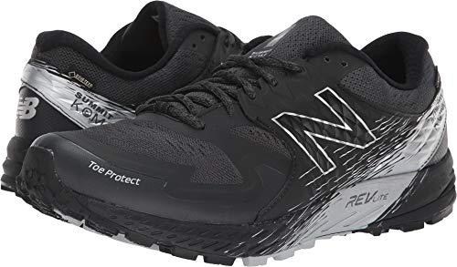 New Balance Men's SKOM-Summit King of Mountain V1 Trail Running Shoe, Black/Grey, 10.5 D US