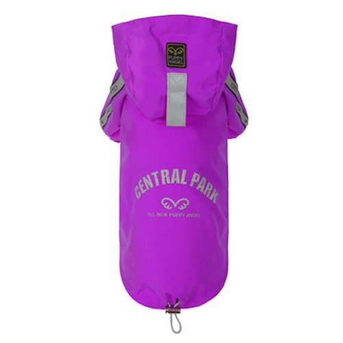 Puppy Angel Multi Predect Regular Jumper Raincoat, 5X-Large, Purple