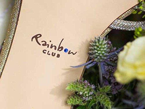 Rainbow Club  Harlow,  Damen T-Spange elfenbeinfarben