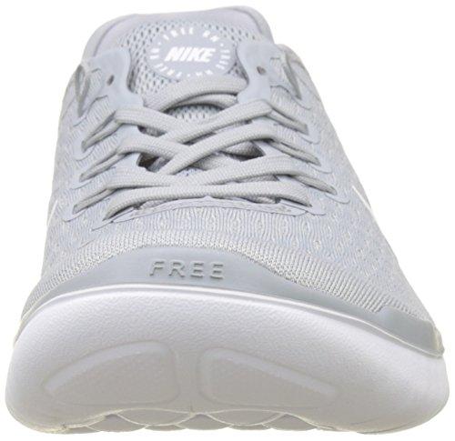 2018 da Wolf 001 White Multicolore Uomo Basse Ginnastica Scarpe NIKE Grey White RN Volt Free qwCTCEa