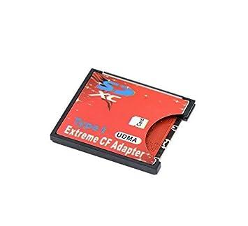 QUMOX SD SDHC SDXC para CF Tarjeta Compact Flash Memory Lector Adaptador Tipo 1 WiFi