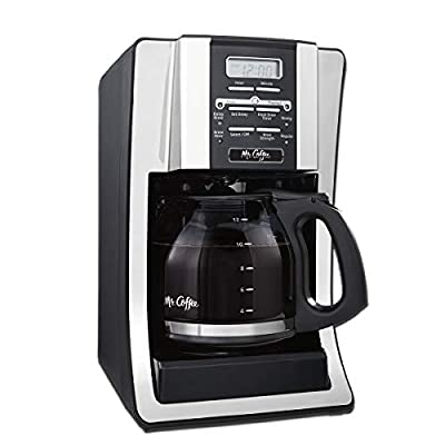12-Cup Programmable Coffee Maker, Bundle with 1 Month Water Filtration