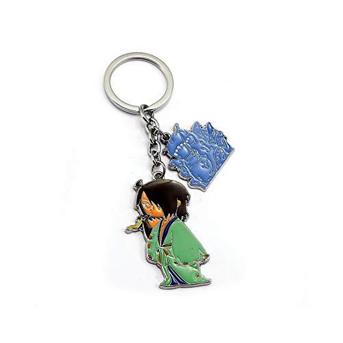 J&C Family Owned Brand Classic Anime 6 Tails Jinchuuriki Keychain w/Gift Box]()