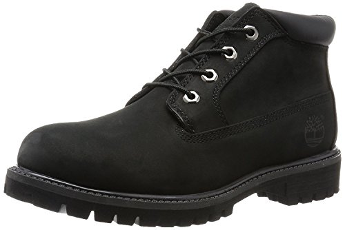 Timberland Mens Premium Waterproof Chukka Boot, 50059-BLACK SMOOTH LEATHER, 49 D(M) EU/13.5 D(M) UK
