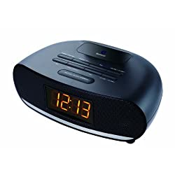 Sylvania SCR1997 USB Bluetooth Alarm Clock Radio