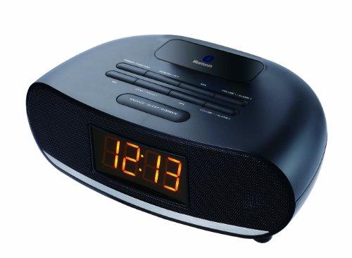 Sylvania SCR1997 USB Bluetooth Alarm Clock Radio