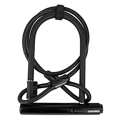 SUNLITE Standard U-Lock w/Bracket, 2.6 x 8 (Mini Long Shackle) : Bike U Locks : Sports & Outdoors