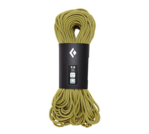 Black Diamond 7.0 Dry Climbing Rope - Yellow 60m ()