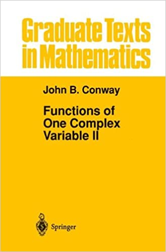 Functions of One Complex Variable II (Graduate Texts in ...