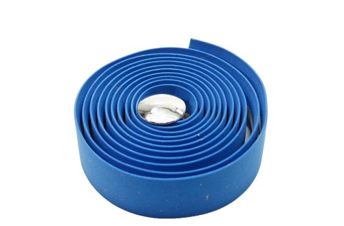 Serfas Cork Bar Tape, Blue (Bar Synthetic Tape Cork)