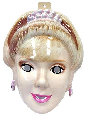 [Vintage Barbie Birthday Princess PVC Mask Kid Size Rubies Halloween Dress Up] (Adult Barbie Dress Up)
