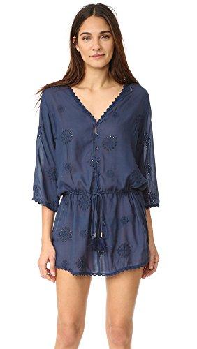 Melissa Odabash Women's Louise Dress, Navy, One Size