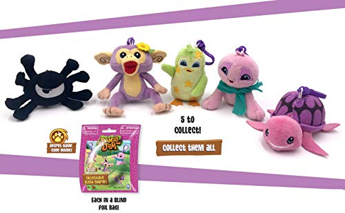 - Animal Jam - Plush Collector Clips with Game Code (Exclusive to Amazon)