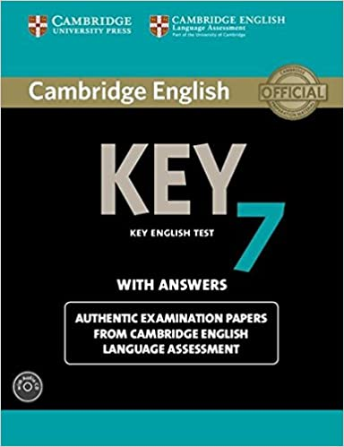 Lataa Mac-kirjoja Cambridge English Key 7 Student's Book Pack (Student's Book with Answers and Audio CD): Authentic Examination Papers from Cambridge English Language Assessment (KET Practice Tests) 1107691982 PDF ePub
