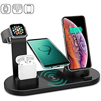 Amazon.com: Wireless Charger,COSOOS 4in1 Wireless Charging ...