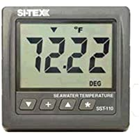 SITEX Water temp. Indicator w Thru-Hull Xdcr / STX-SST-110TS /