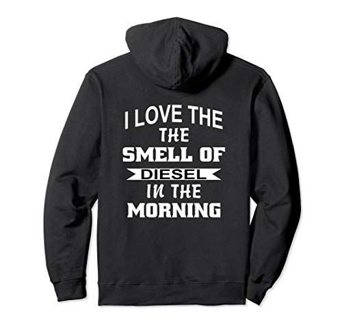 Diesel Truck Hoodie Power Smell Of Turbo Brothers Mechanic