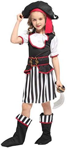 Yaxuan Niños Disfraces De Piratas De Disfraces De Niñas De ...