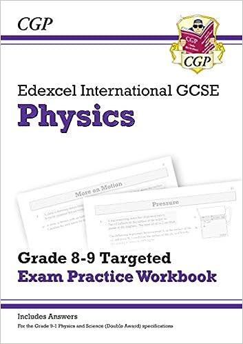 New Edexcel International GCSE Physics: Grade 8-9 Targeted
