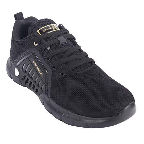 Columbus Ciaz Comfortable Mesh Laceup Latest Stylish Shoe| Lightweight Sports Shoes for Running, Walking, Gym, Trekking, Hiking for Men