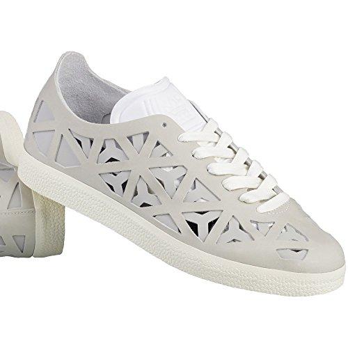 Cutout Beige Adidas Da Donna Scarpe bianco Basse Ginnastica Gazelle AxqFw7O