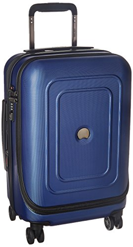 DELSEY Paris Luggage Cruise Lite Hardside 19 Intl. Carry on Exp. Spinner Trolley, Blue