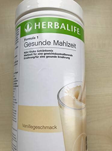 Herbalife Formula 1 Gesunde Mahlzeit 4 x 550g, Geschmacksrichtungen nach Wunsch