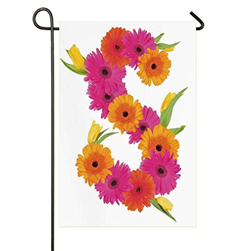 Fragrance C Garden Flourishing Nature Essence of Nature Garden Flag Yard Decorations Flag for Outdoor Festive Holiday Flags 12 X 18 Inches ()