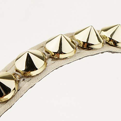 En B Lanières Artificiel Baosity Cm Détachables Du Longueur Pièces Bracelet Or 2 24 Cuir 30 I1pqwCf