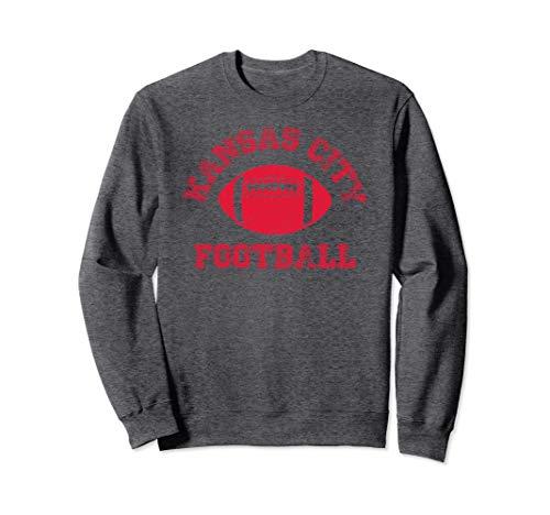 Kansas City Distressed Pro Football Team Sweatshirt Mens Wom ()