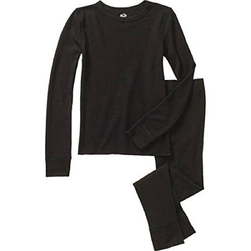 - Fruit of the Loom Boys Waffle Thermal Underwear Set Dark Navy XL/EG [14-16]