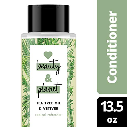 (Love Beauty and Planet Radical Refresher Tea Tree Oil & Vetiver Tea Tree Conditioner, 13.5 oz)