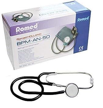 Medi-Inn - Juego de tensiómetro de doble tubo y estetoscopio: Amazon.es: Salud y cuidado personal
