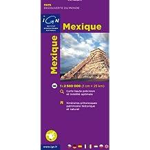 IGN MONDE : MEXIQUE MEXICO NO.85105