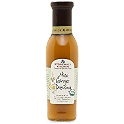 Stonewall Kitchen Organic Miso Ginger Dressing