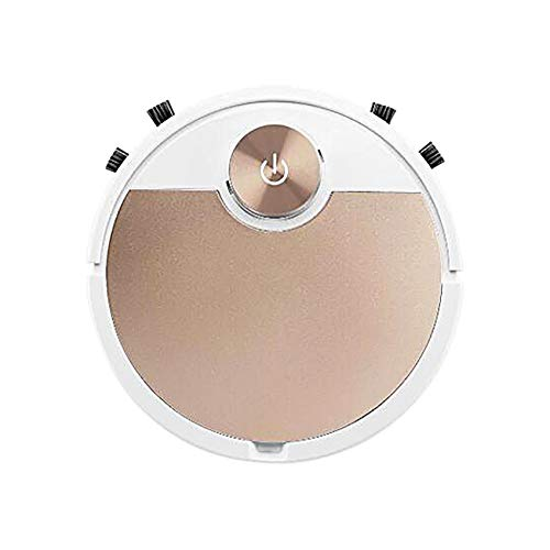 Practical Intelligent Sweeping Robot Vacuum Cleaner,Home Essential Sweeping Robot,Low Noise Intelligent Timing Cleaning Robot Vacuum for Hard Floor/Carpets