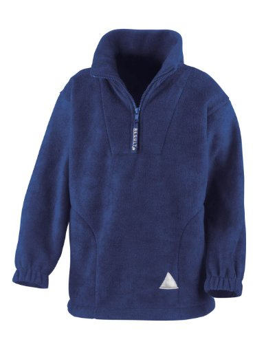Kids Neck Fleece Active Zip Result Youths Royal Pqdfw1H