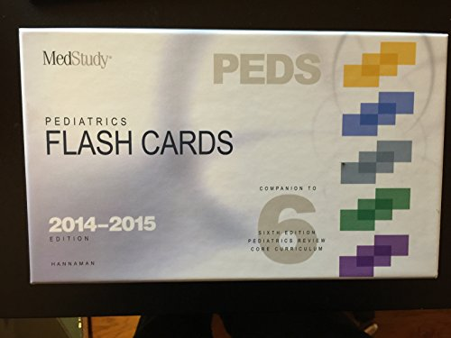 PEDIATRICS FLASH CARDS (2014–2015 EDITION)
