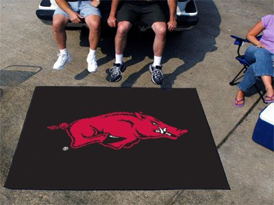 Huge NCAA Arkansas Razorbacks Mascot Indoor/Outdoor Tailgater Floor Mat 72'' by Fanmats