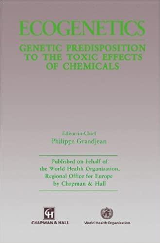 Book Ecogenetics: Genetic predisposition to toxic effects of chemicals 1st Edition by Grandjean, P. published by Springer
