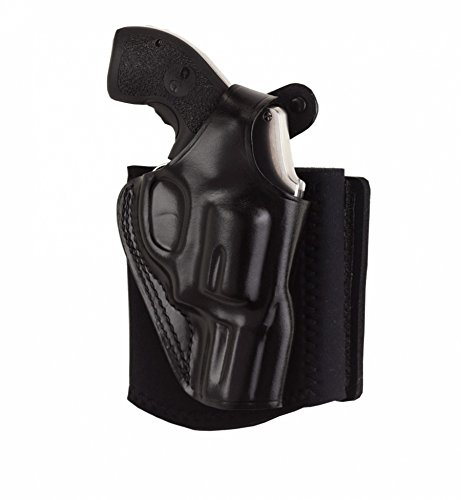Galco AG160 Ankle Glove Ankle Holster - Smith & Wesson J Frame and Bodyguard Revolvers